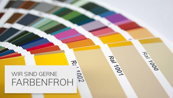 MenColor RAL-Farben
